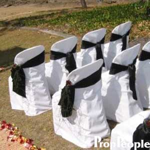 Chairs - White Plastic Stacking