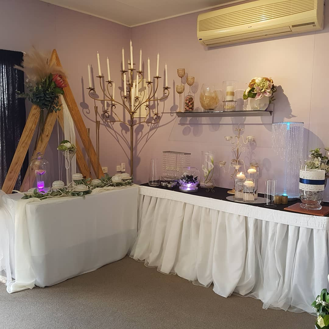 wedding decoration hire hervey bay