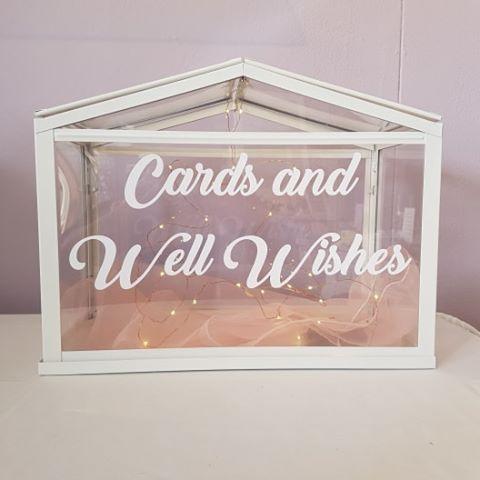 Acrylic Wishing Well Box